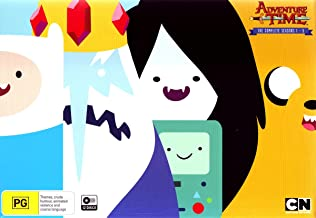 Adventure Time Complete Seasons 1-5 Adventure Time with Finn & Jake Adventure Time - Complete Seasons One to Five NON-USA FORMAT, PAL, Reg.4 Australia
