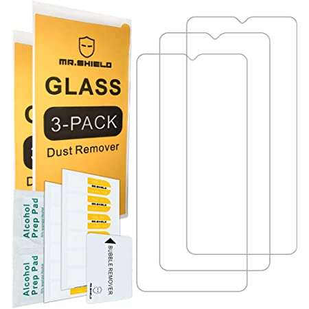 [3-PACK]- Mr.Shield Designed For OnePlus 7T [Tempered Glass] Screen Protector [Japan Glass With 9H Hardness] with Lifetime Replacement