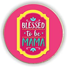 Yaya Cafe for Mom Blessed to Be Mama Fridge Magnet - Round
