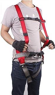 GBHJJ säkerhetssele fallskydd, höstskyddssele, 1 D-ring industriell anti-fall bältesuppsättning, klättring, strykning, byg...