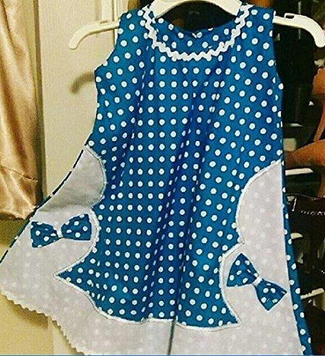 100% ORIGINAL Under blast sales Handmade Summer Sleeveless Pleasant polkadot Max 82% OFF Girls