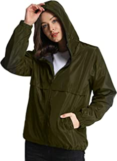 iLoveSIA Womens Fleece Lined Hooded Jacket