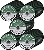 50 Pack - Cut Off Wheels 4 Inch x 1/16 Inch x 5/8 Inch For Cutting all Ferrous Metals and Stainless Steel.