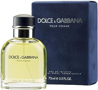 D&G Dolce & Gabbana Pour Homme Eau de Toilette Vapo 75 Mililitros
