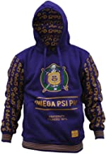 Omega Psi Phi Fraternity Men's New Style Hoodie 3XL Purple