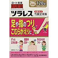 【第2類医薬品】和漢箋 ツラレス 120錠 ×5