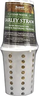 Summit 131 Clear-Water Barley Straw for Livestock Watering Troughs, Treats up to 1000-Gallons