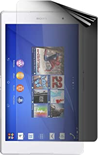 Celicious Privacy 2-Way Portrait Anti-Spy Filter Screen Protector Film Compatible with Sony Xperia Z3 Tablet Compact