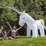LIANGYUXIA Plástico de PVC Nuevo Aspersor Inflable Unicornio Spray de...