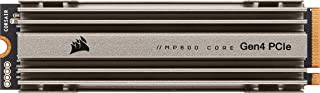 سعة ذاكرة مستديمة 4 تيرا بايت MP600 كور من كورسير - مع منفذ الملحقات الاضافية السريع بتقنية الجيل الرابع، وسيط تخزين ذو حا...