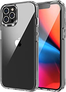 WORLDMOM iPhone 13 Pro Max 6.7 Inch Case, Clear Transparent Cover Non-Yellowing Shockproof Protective Phone Case Slim Thin
