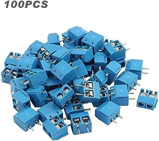 sourcing map 10Pcs Conector De Bloque De Terminales De Tornillo Pcb 300V 2Edgk 3,81mm 13-Pin