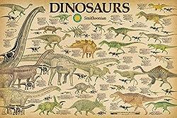 2. Studio B Smithsonian Dinosaurs Info Chart Poster