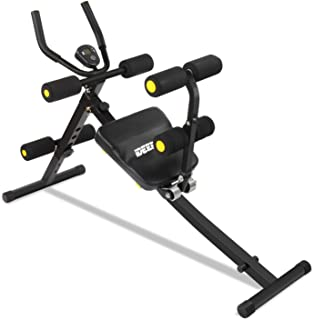 IDEER LIFE Core&Abdominal Trainers Abdominal Workout Machine,Whole Body Workout Equipment for Leg,Thighs,Buttocks,Rodeo,Height Adjustable Sit-up Exerciser Home Ab Trainer with LCD Display.