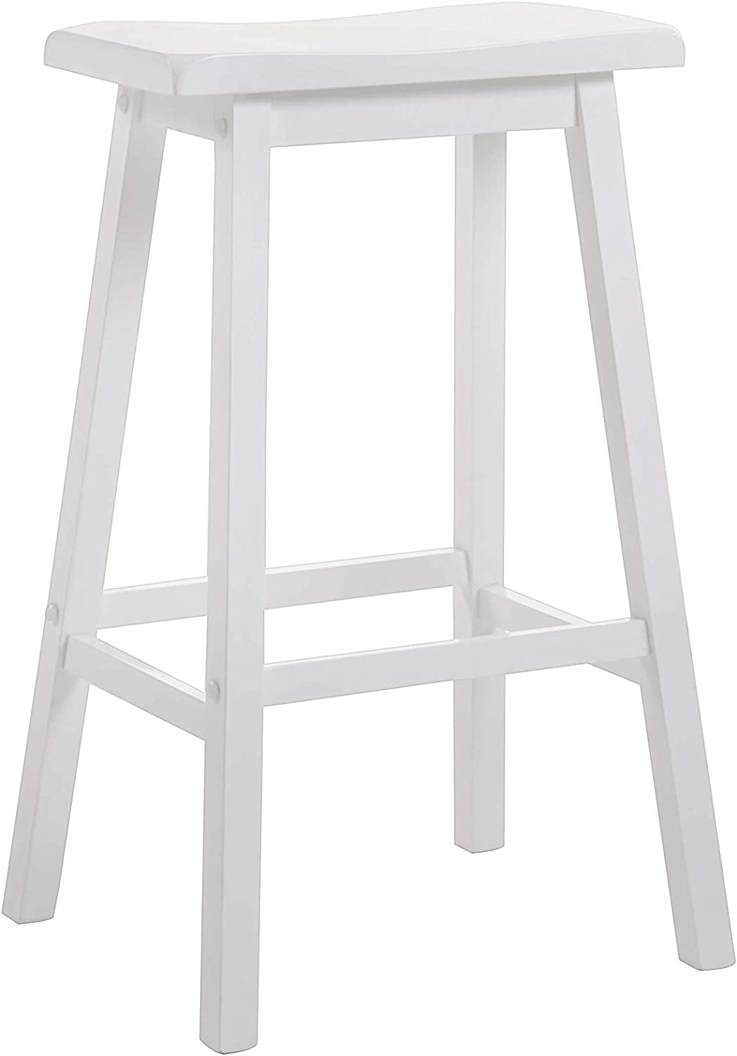 Gifts ACME Furniture 07311 Gaucho Attention brand Bar Stool White 29