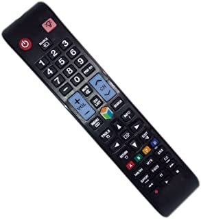 Replaced Remote Control Compatible for Samsung UN40EH5300 UN32EH5300F UN46EH5300FXZA UN50ES6150FXZA UN60ES6150F LED LCD HD...