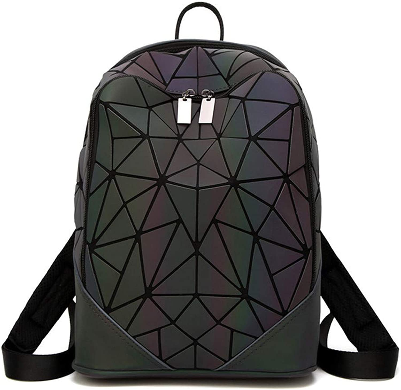 Leuchtender unregelmäßiger Dreieck-Pailletten-Rucksack für weiblichen koreanischen Rucksack B07M83BX8P  Ausgezeichnete Funktion