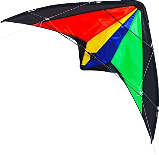 Zhuoyue Kite Dual Line Stunt Kite 51-inch Wingspan, Professional Kites for Adults Outdoor Sport ,Includes Kite Line Handle and Bag