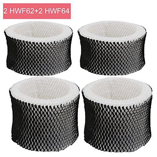 Eagles HWF62/HWF64 luchtbevochtiger filter - 3 pack vervanging Luchtbevochtiger wick filters voor Holmes HWF62/HWF64, Sunbeam en Bionaire luchtbevochtigers, vervanging filter A/filter B