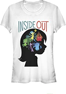 Fifth Sun Juniors Inside Out Silhouette Graphic Tee