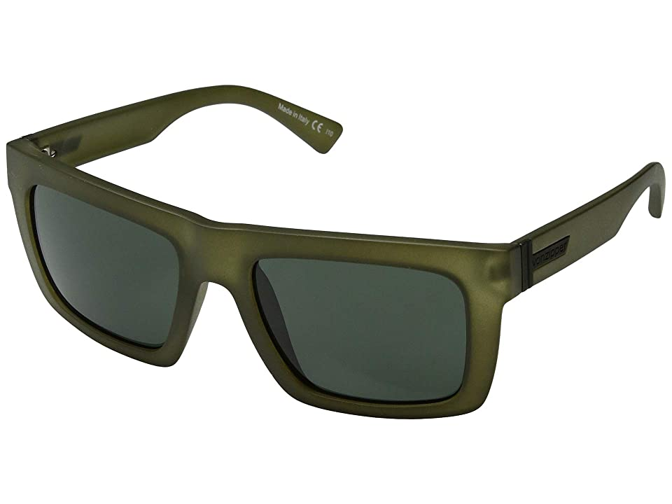 VonZipper Donmega (Forest Satin/Grey/Green) Sport Sunglasses