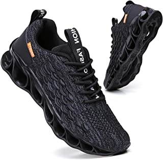 Sports Sneakers for Men Mesh Breathable Fashion Youth Big Boys Trail Walking Shoes Black White Red