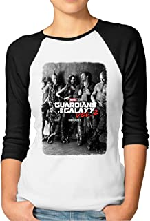 Woman Guardians Of The Galaxy Vol 2017 Baseball Raglan T-shirt