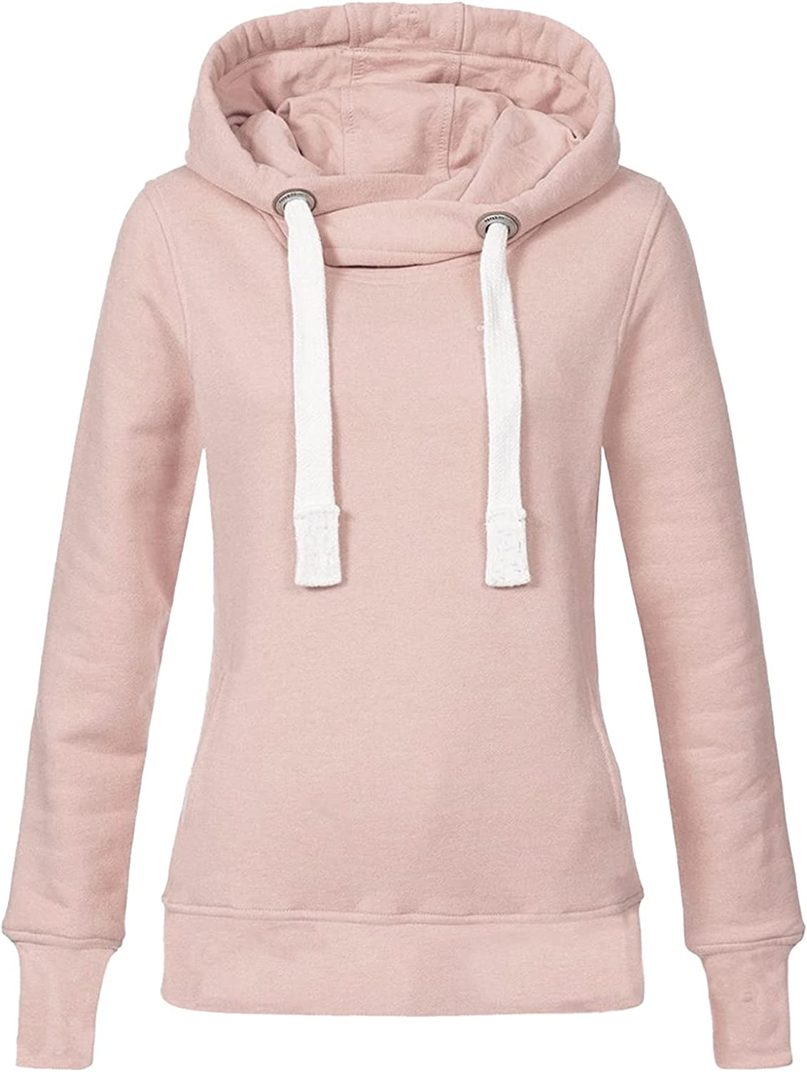 Choice Hoodies for Women 2021 Ranking TOP11 New Pullover Long Drawstring Solid Sleeve