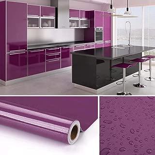 KINLO Vinilo Pegatina Muebles de Cocina, PVC Engomada