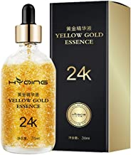 24K Gold Serum, Yiitay Face Serum Face Essence Anti-aging Anti Wrinkle Facial Serum Promote Metabolism, Whitening & Moisturizing for Women Face Skin Care - 1 fl oz/30ml (A1)