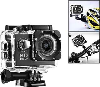 Winbang Cámara de acción deportiva HD Wi-Fi Videocámara DV resistente al agua Cámara de cámara de 2 pulgadas con cubierta impermeable