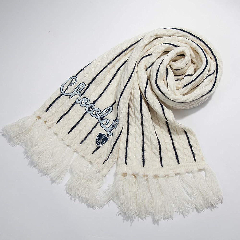 Hyy Scarf Scarf Female Winter Casual Wool Scarf Knit Shawl Dual Purpose