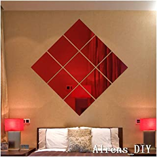Best red wall mirror Reviews