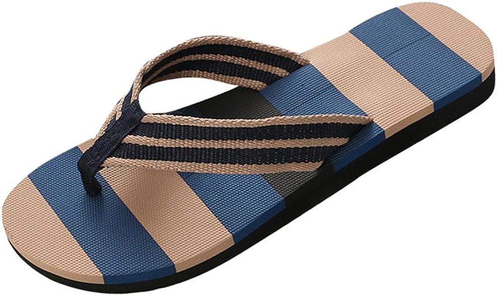WSVVMQY House Slippers Women Comfy Flip Flops Men Summer Shoes Mixed Colors Sandals Male Slipper Indoor Or Outdoor Flip Flops Blue,Black,Gray