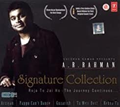 Signature Collection- 51 Songs by Rahman, composer of Slumdog Millionaire (3 CD Set) (A.R.Rahman/ Oscar winner for Slumdog Millionaire / Indian Music)