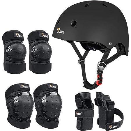 Kryptonics 4-in-1 Pad Set with Helmet Renewed Youth