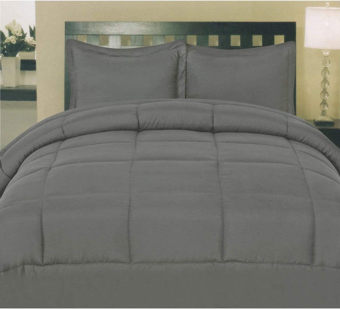AP Beddings Hotel Max 66% OFF Collection 35% OFF - Comforter Piece 500GSM Microfi 1