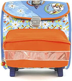 Diddl & Friends Sac à dos scolaire Diddlina et Galupy Children's Backpack, 40 cm, Multicolour (Lucky Galupy)