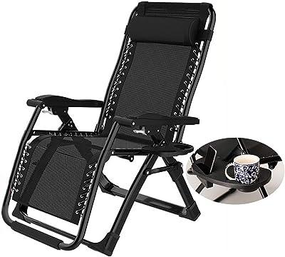 Vonhaus Premium Padded Zero Gravity Chair Heavy Duty