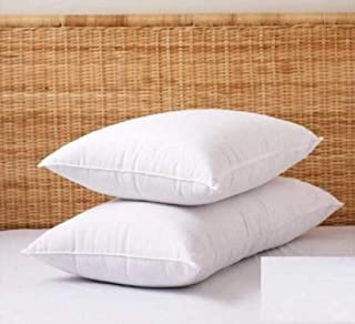 Generic Pillow| Fiber Pillow|Hotel Quality Sleeping Pillow Pack of - 2 Piece Pack|White Fibre Pillow 16 * 24 Inches|White ...