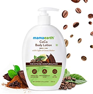 Mamaearth CoCo Body Lotion With Coffee and Cocoa for Intense Moisturization - 400ml