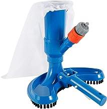 Luckyshuai Piscina Aspiradora de aspiradora Herramienta de Limpieza Limpiador de Piscinas Piscina Fuente Fuente de vacío Cepillo de Limpieza Accesorios de natación (Color : Blue)