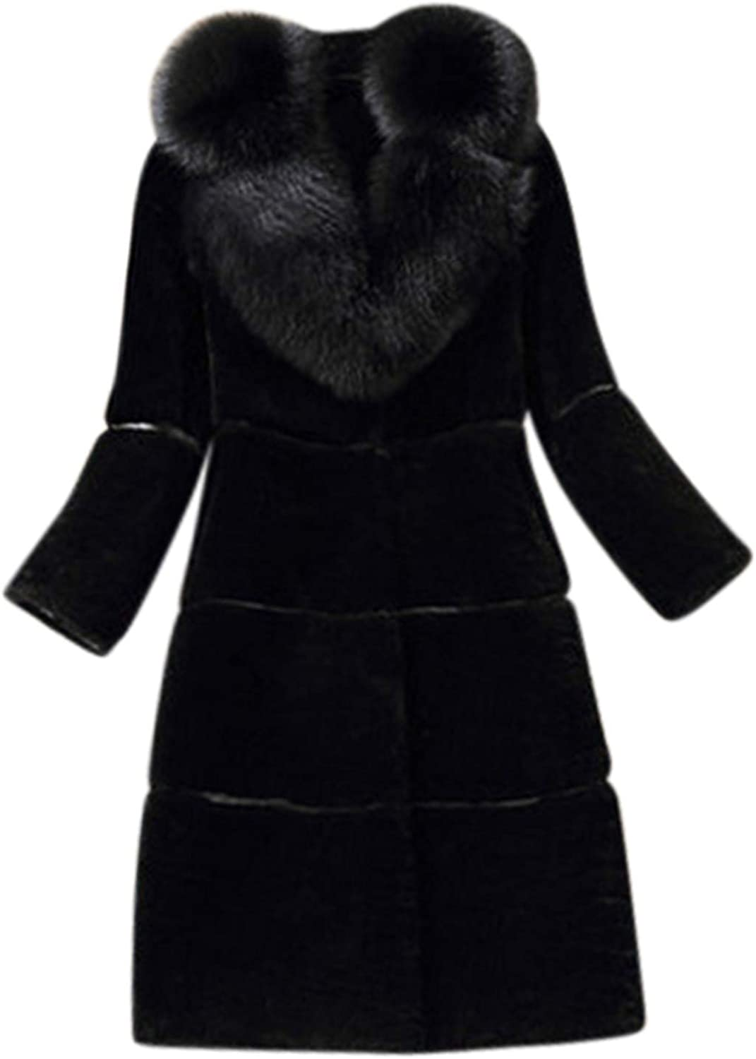 Womens Overcoat Outwear Elegant Solid Color Laperl Wo Artificial Animer and price Latest item revision