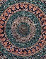 GXZZ背景の壁のタペストリー、自由hem放なタペストリーのマンダラ寮の装飾民族の装飾的な壁の毛布85 x 55 cm