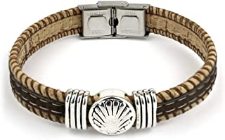 Cork-metal bracelet Astorga