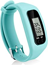 Coch Fitness Tracker Watch, Simply Operation Walking Running Pedometer with Calorie Burning and Steps Counting