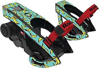 MightySkins Skin Compatible with Razor Turbo Jetts Electric Heel Wheels - Bananas   Protective, Durable, and Unique Vinyl Decal wrap Cover   Easy to Apply, Remove, and Change Styles   Made in The USA