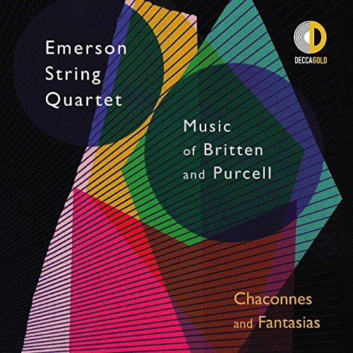 Price comparison product image Chaconnes And Fantasias - Music Of Britten And Purcell