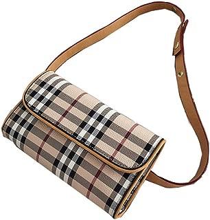 Presbyopia waist bag new chest bag fashion printing small square bag casual Messenger bag