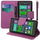 VComp-Shop® - Custodia in plastica per Nokia Lumia 735/730 Dual SIM + grande pennino capacitivo + pellicola protettiva per lo schermo in omaggio